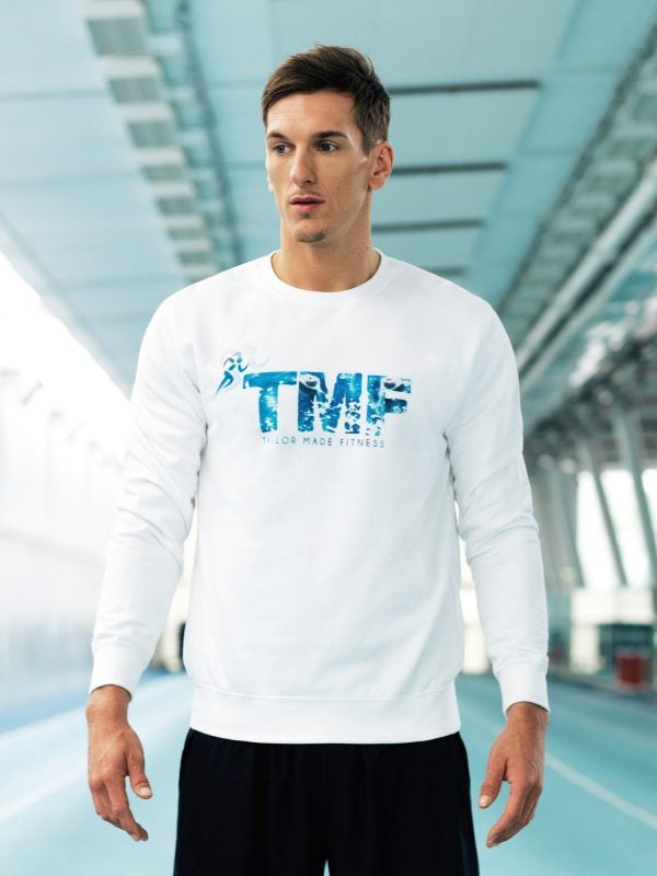 TMF Blue Focus Sweatshirt Front