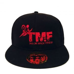 Black & Red Snapback Hat