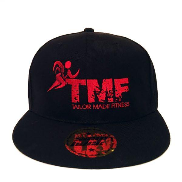 Black & Red Snapback Hat