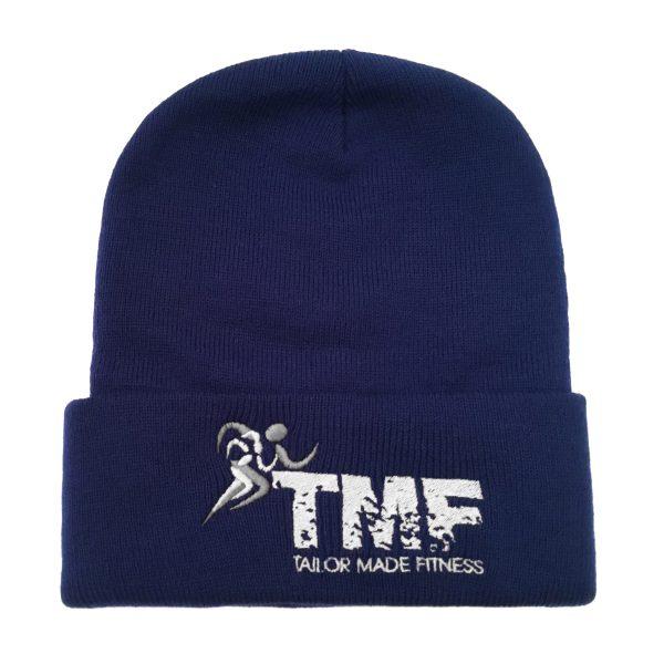 Royal Blue & White Ski Hat