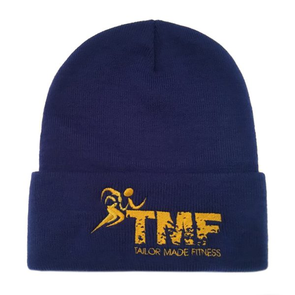 Royal Blue & Yellow Ski Hat