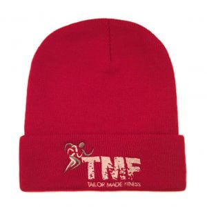 Red & White Ski Hat